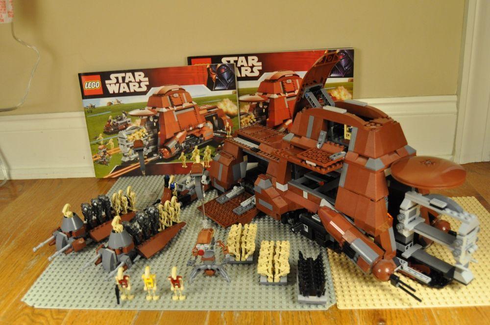 Lego Star Wars 100 Complete Mtt 7662 W Instructions 2 Droid