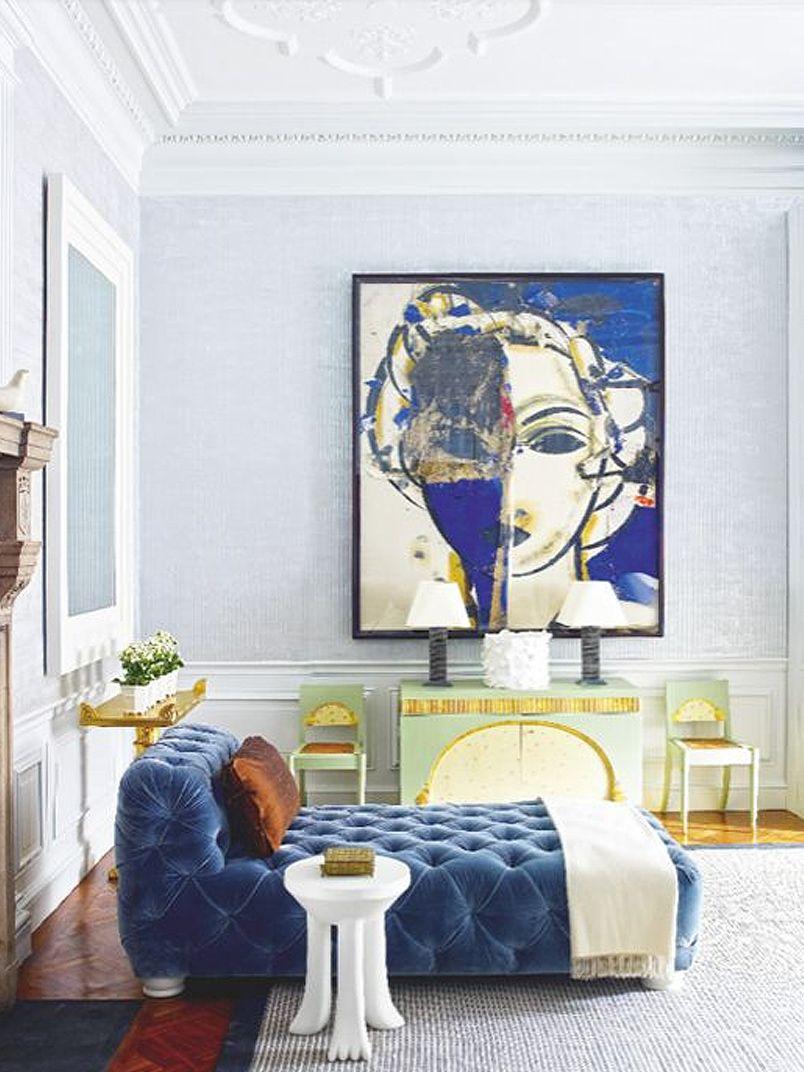 wohnideen-blog-Chaiselongue-01   art   Pinterest   Interiors, Paris ...