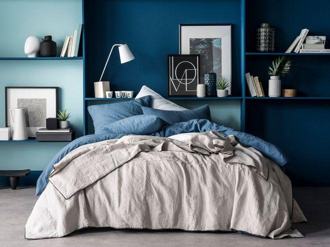 Du beau linge et de la couleur pour booster la déco de la chambre - couleur de la chambre