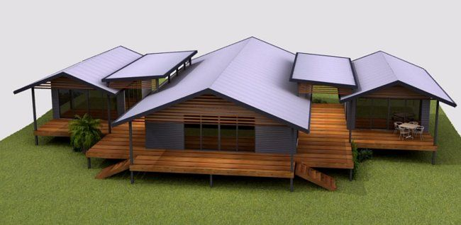 Australian Kit Home Cheap Kit Homes HOUSE PLANS For Sale With GRANNY Part 3