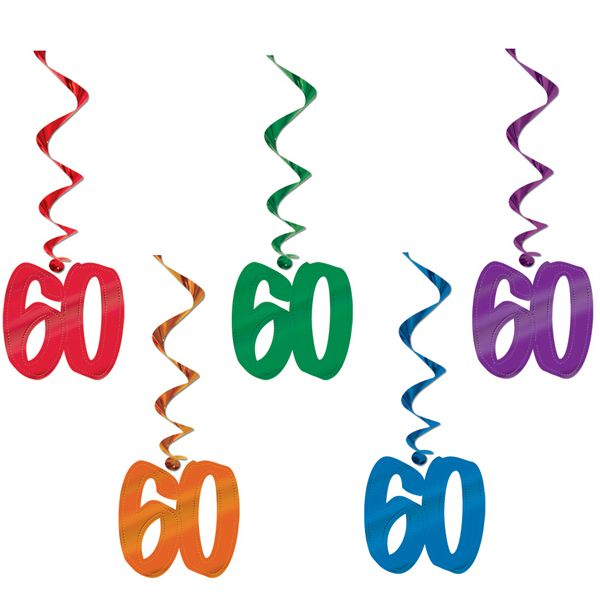 60th birthday giant dangling cutouts 5 birthday ideas rh pinterest com 60th birthday clipart free 60th birthday clip art free