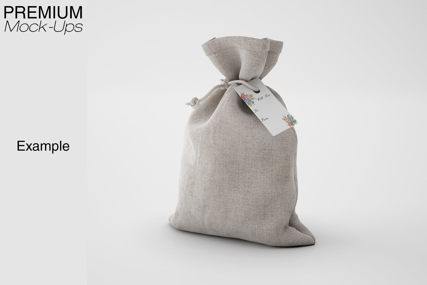 Download Candle Perfume Set Perfume Set Perfumed Candle Linen Bag