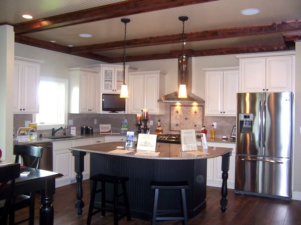 Kitchen beams house ideas pinterest