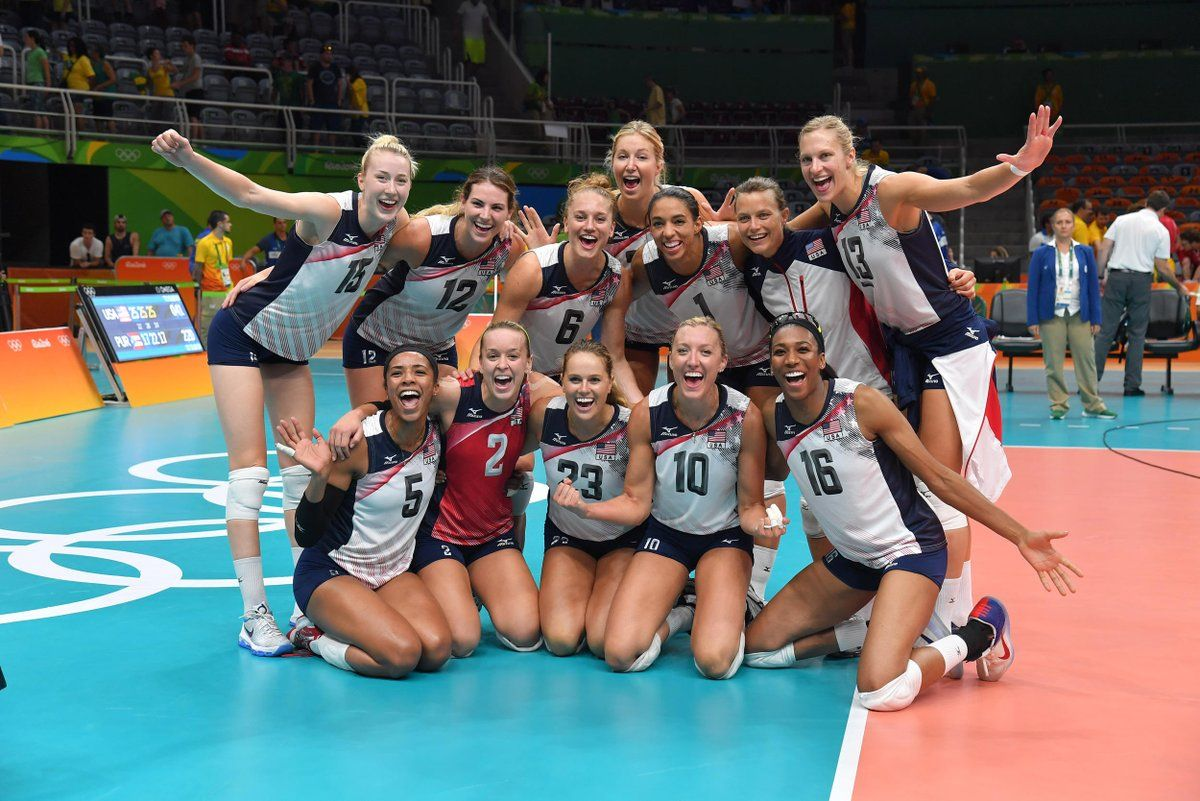 U S Olympic Team Teamusa Usa Volleyball Team Usa Volleyball Olympic Volleyball