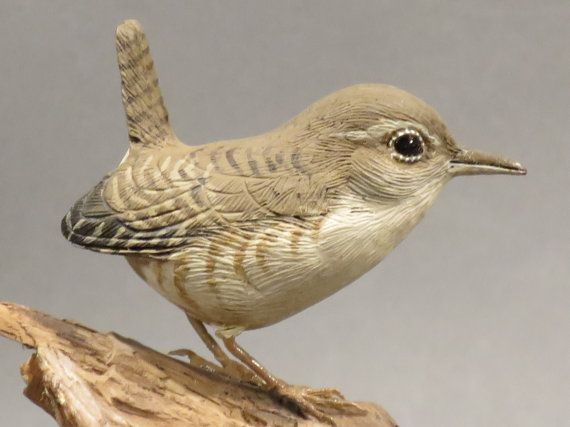 Winter Wren by GeneBoyd on Etsy, $395.00