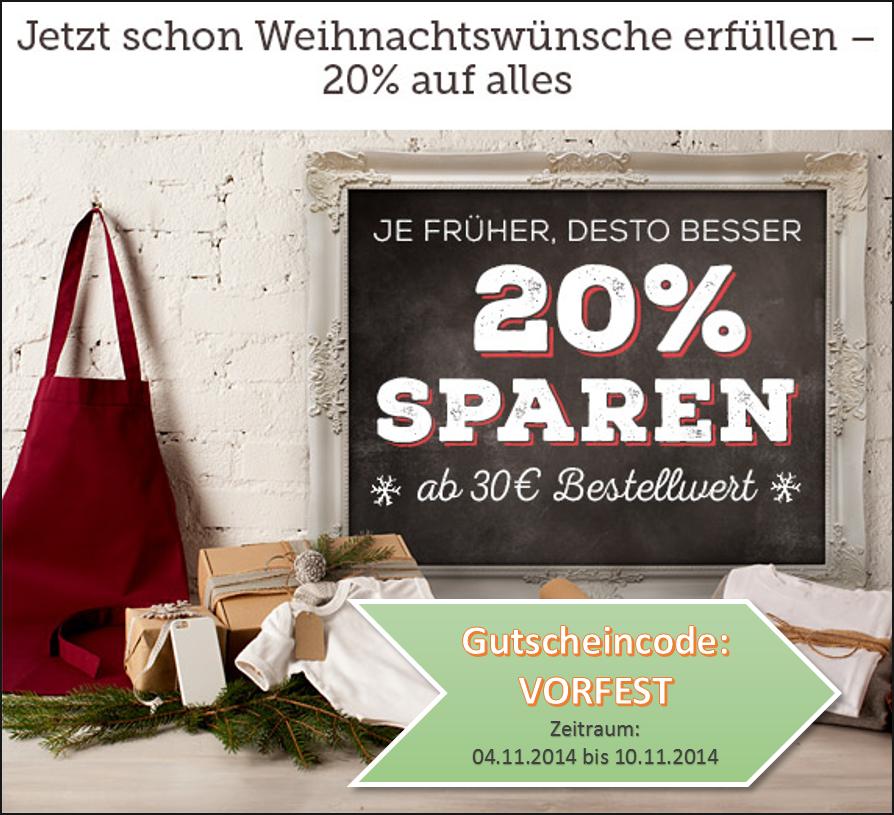 Weihnachten naht – 20% Frühkäufer-Rabatt! Kleiner Motivationsschub ...