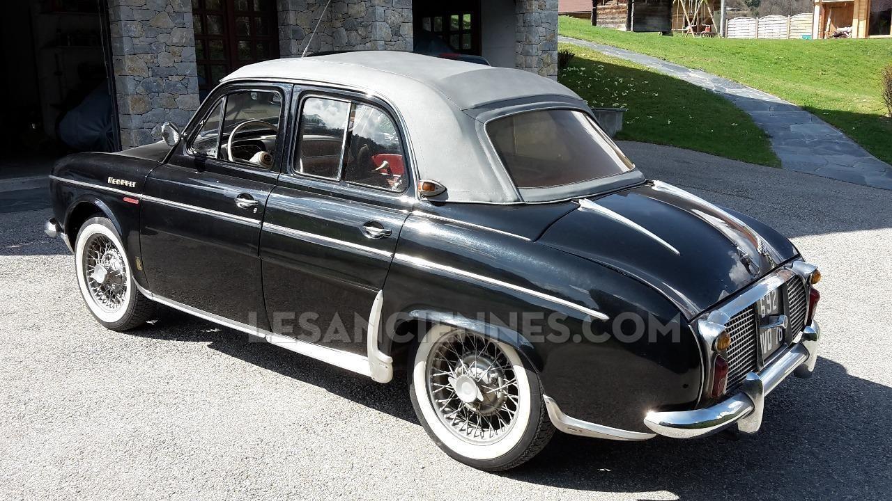 renault dauphine d couvrable chapron 1960 ventes auto les annonces les anciennes com. Black Bedroom Furniture Sets. Home Design Ideas