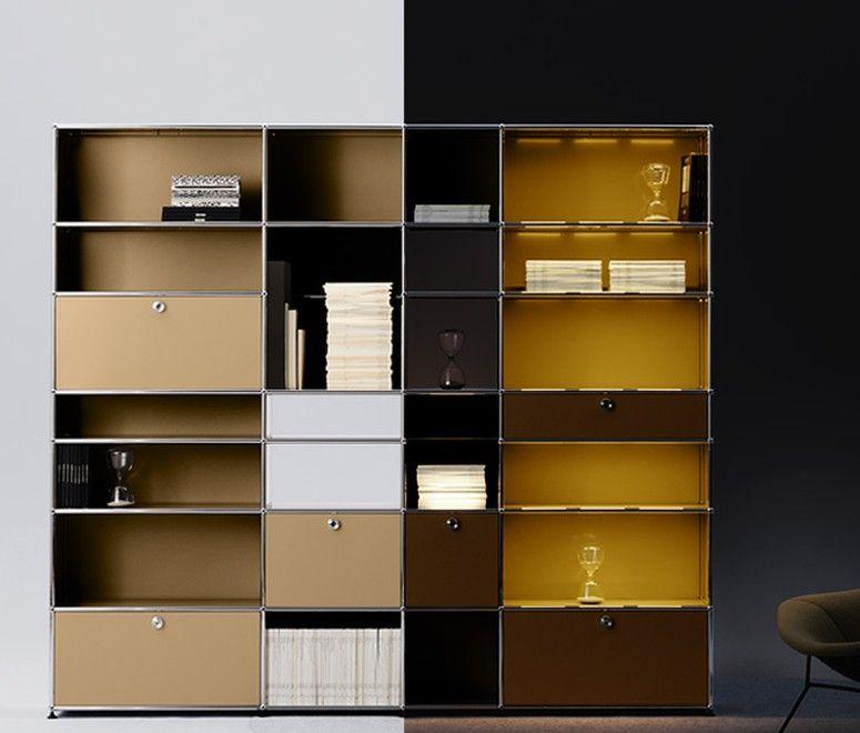 usm haller entdecken sie neue dimensionen integraler beleuchtung interieur pinterest. Black Bedroom Furniture Sets. Home Design Ideas
