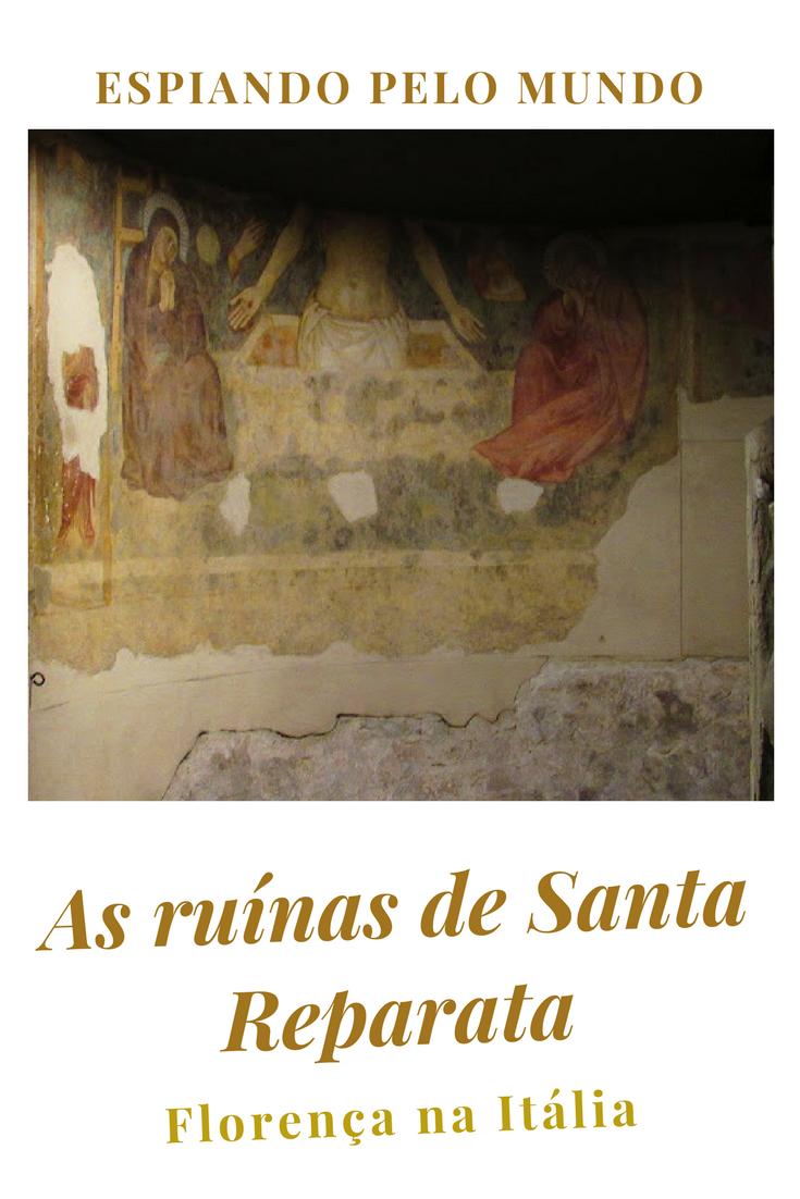 Caminhar entre as ruínas de Santa Reparata é um caminhar pelos tempos antigos de Florença