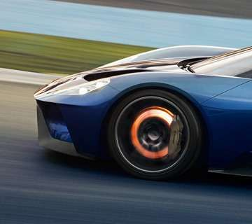 Ford Gt Engineers Have Integrated The Performance And Stopping Power Of Ultra Lightweight Brembo