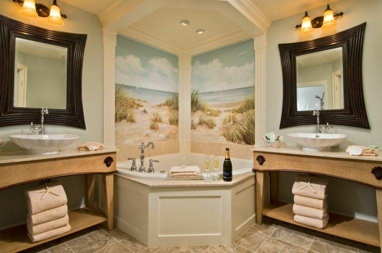 Baños modernos con bañera - cincuenta diseños   Cuarto de baño ...
