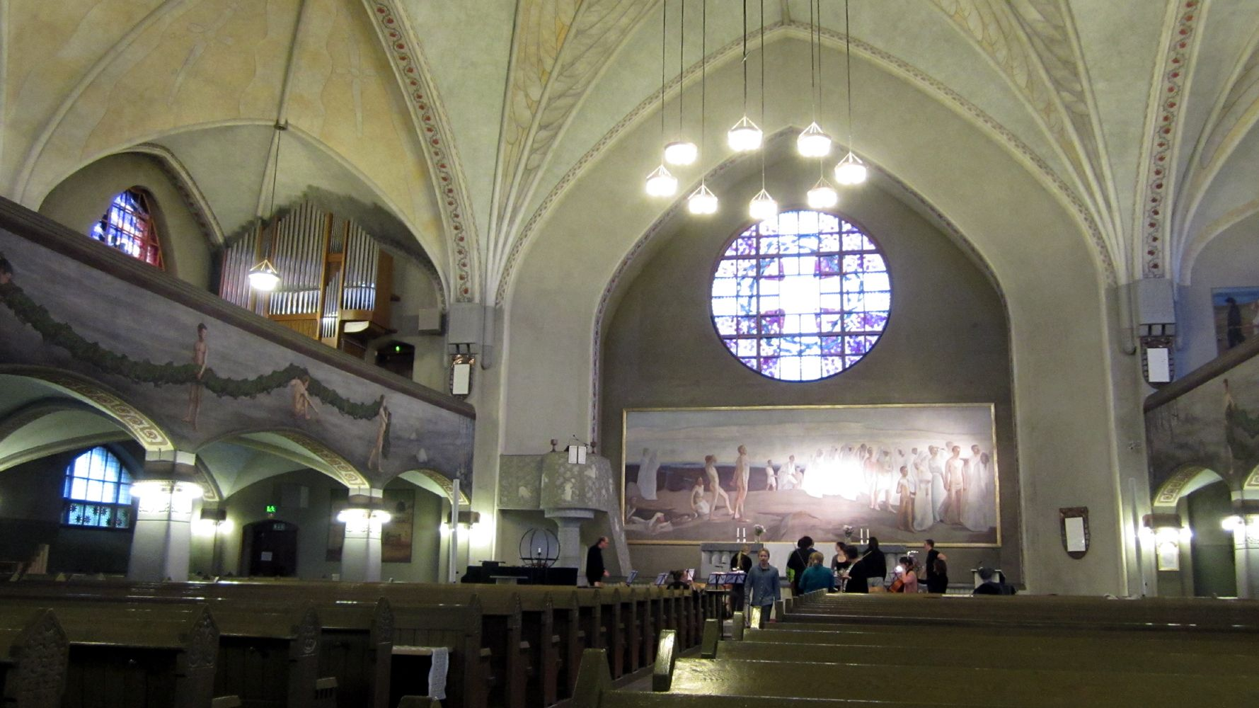 A small concert in Tampere cathedral / Tampereen Tuomiokirkko