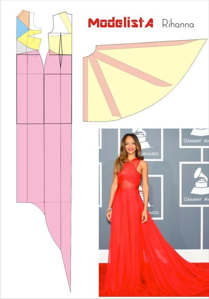 Mod  En Linea  Sewing Patterns  Pinterest  Vestidos -7426