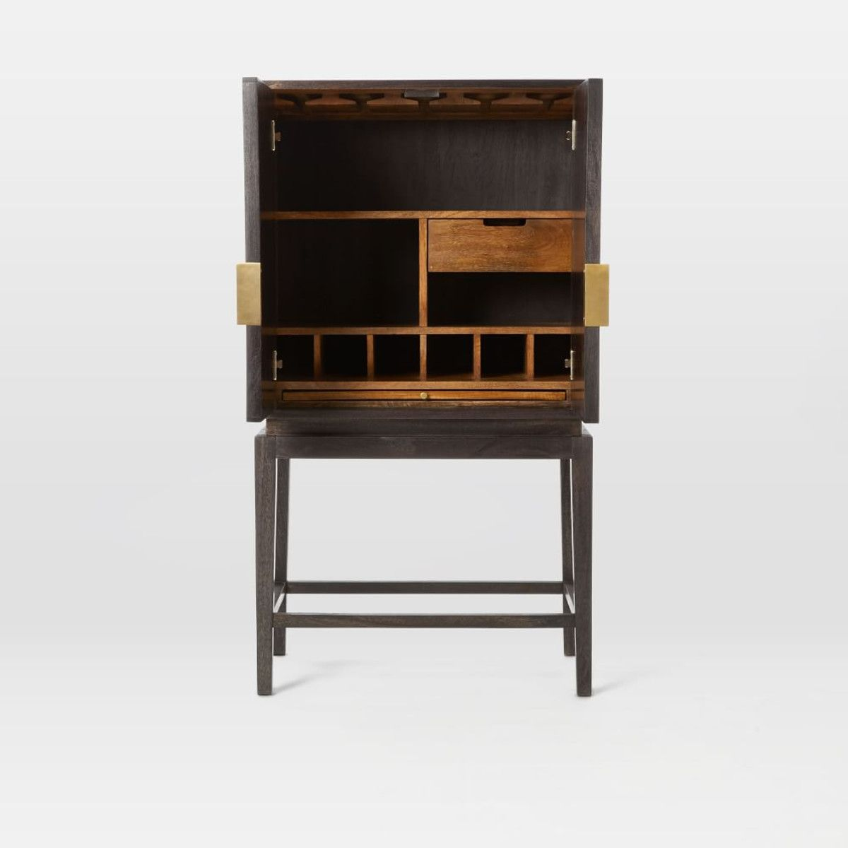 Bone Inlaid Bar Cabinet / west elm | Bar cabinets | Pinterest | Bar ...