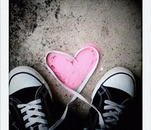 Inspiring picture adorable, all star, converse, cute, heart. Resolution: 540x540 px. Find the picture to your taste!