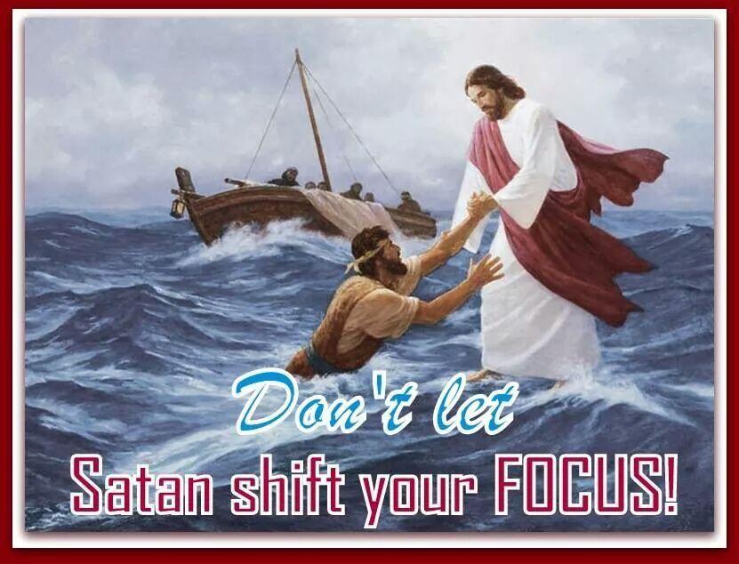 annick nday on   Jesus walk on water, Jesus
