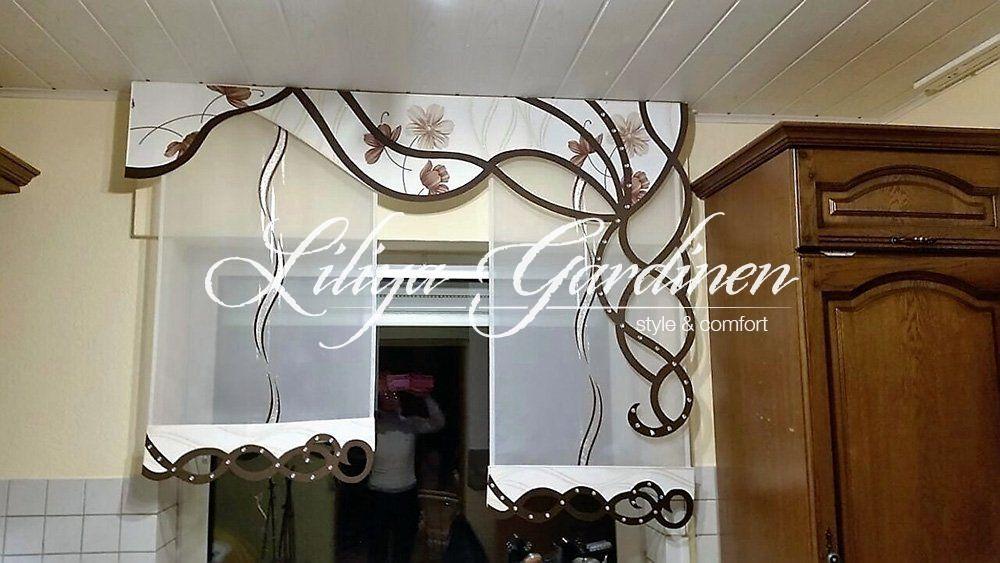 Küche  Bad « Gardinen Liliya Unbedingt kaufen Pinterest