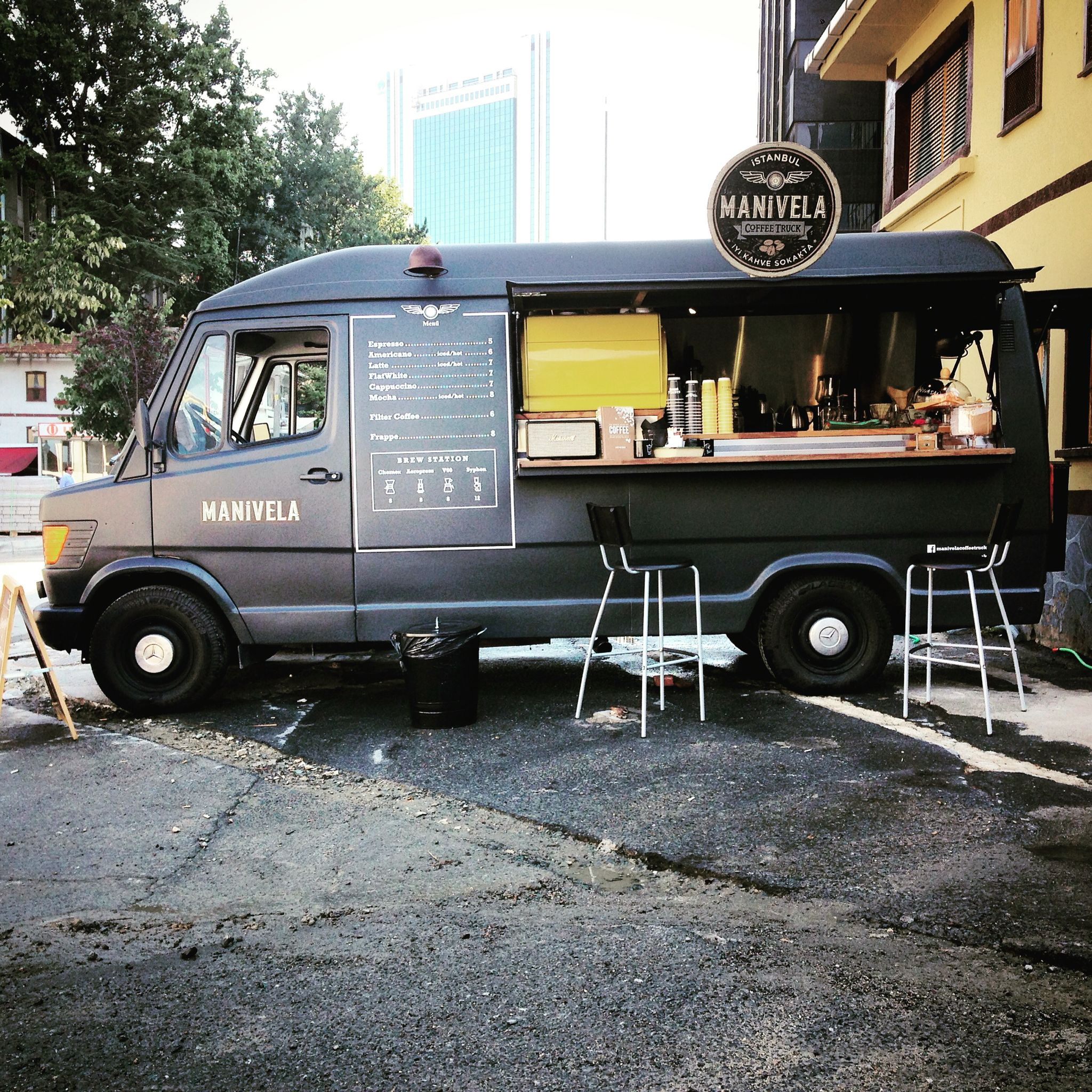 Alchemy Coffee Food Truck The First Coffee Truck Of İstanbul Manivela Coffee Truck