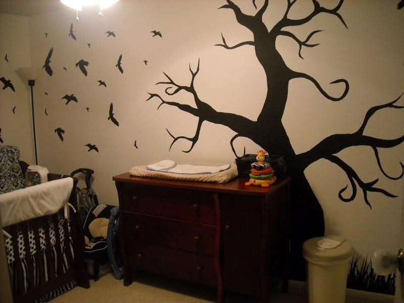 Our Tim Burton Inspired Nursery, Tim Burton Nursery Bedding
