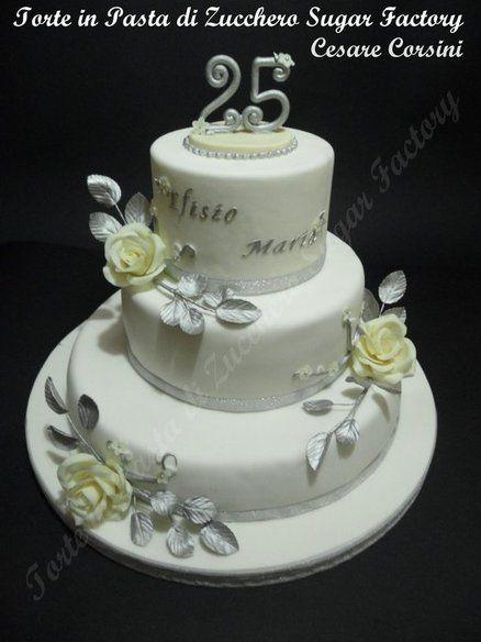 25 Anni Di Matrimonio Cake Magic Cake Cupcake Cakes