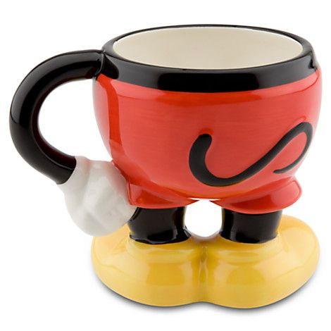 Disney Coffee Cup - Mickey Mouse Legs - Best of Mickey Collection #disneycoffeemugs