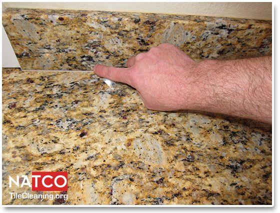 Smoothing Caulk On Granite Countertop Countertops Granite Countertops Granite