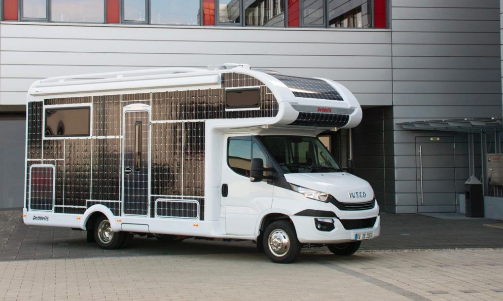 Meet The Solar Powered Electric Motorhome We Ve All Been Waiting For Rv Solar Power Rv Solar Motorhome