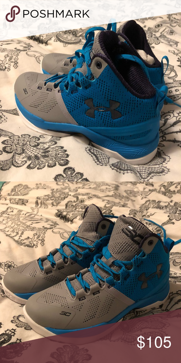 online retailer 60145 1f525 Under Armour Steph Curry 2 brand new grey, turquoise ...
