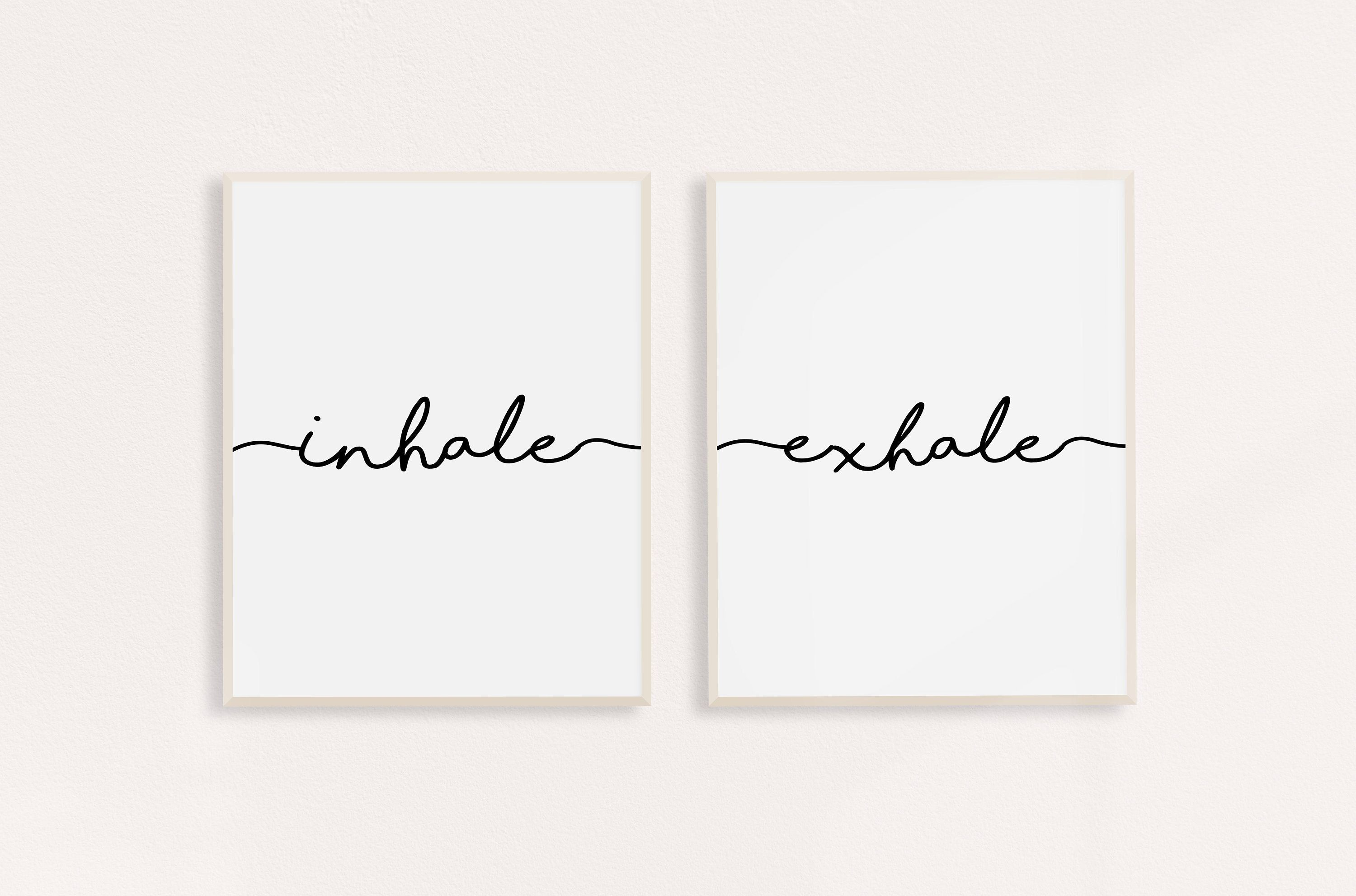 Inhale Exhale PRINTABLE Print | Inhale Exhale Wall Art | Yoga Poster | Inhale Exhale Poster | Mindfulness Gift | Yoga Art | #inhaleexhale Inhale Exhale PRINTABLE Print | Inhale Exhale Wall Art | Yoga Poster | Inhale Exhale Poster | Mindfulness Gift | Yoga Art | #inhaleexhale