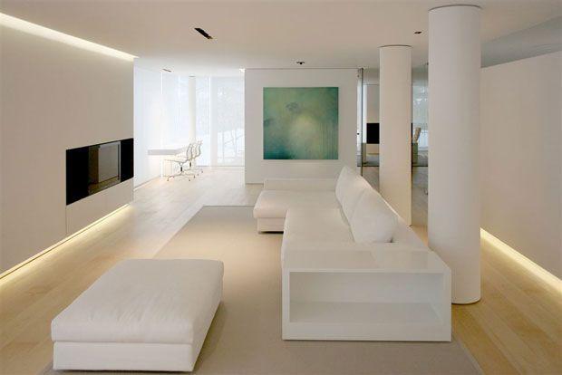 Open Space Bianco E Parquet Cerca Con Google Salotti