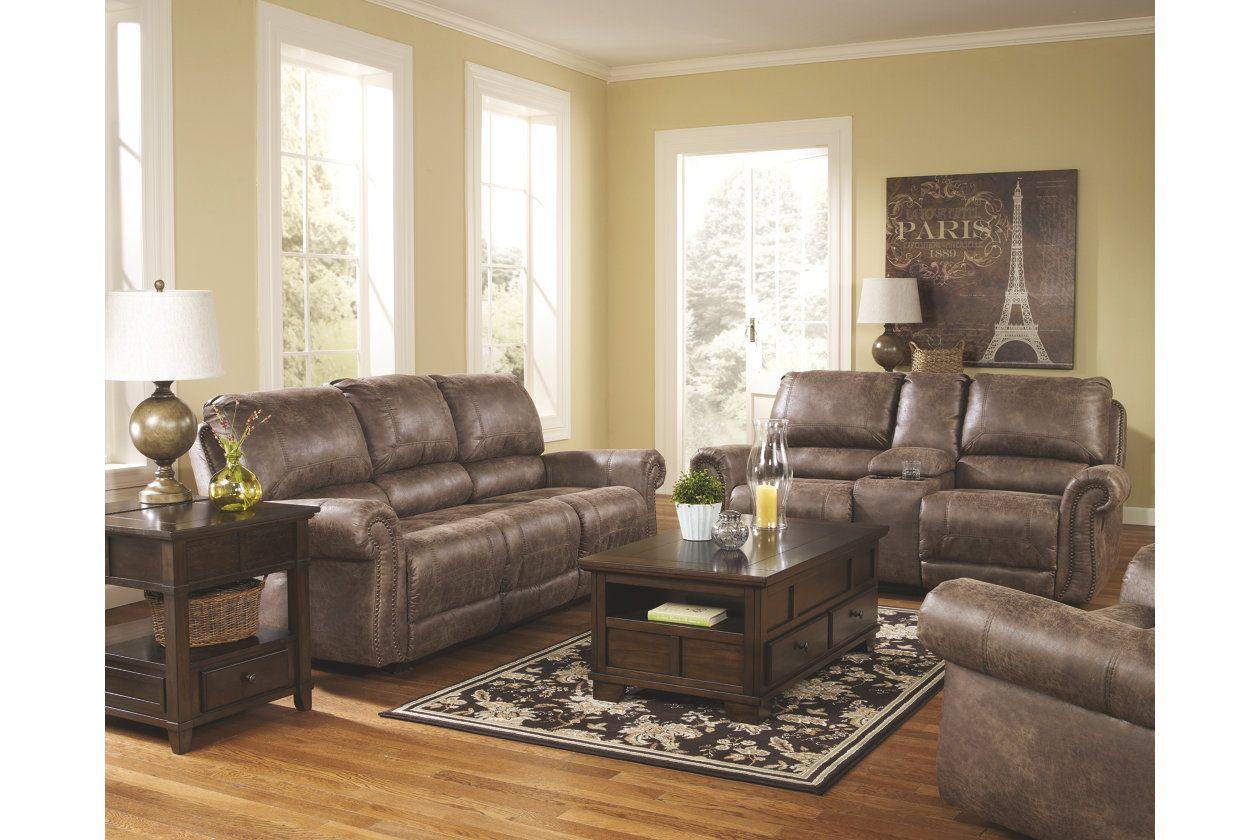 oberson reclining sofa ashley furniture homestore farmhouse rh in pinterest com