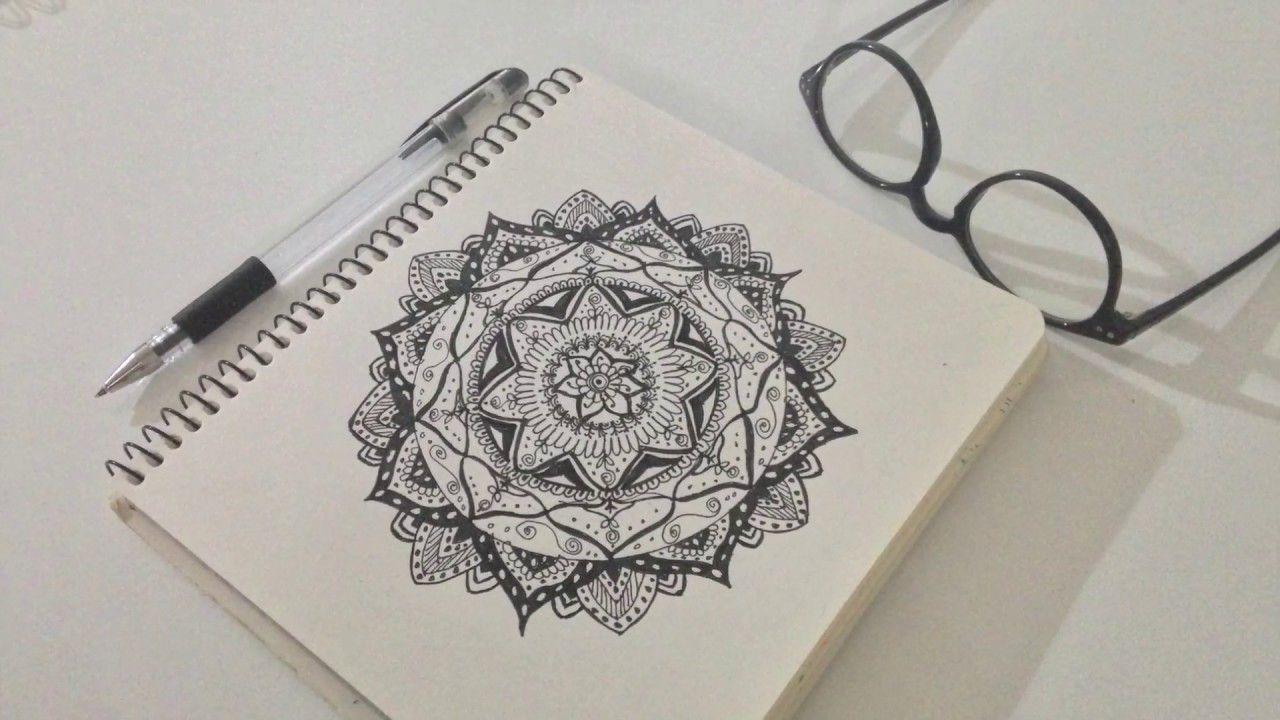 Mandala çizimi Nasıl Yapılır 2 Youtube Youtube