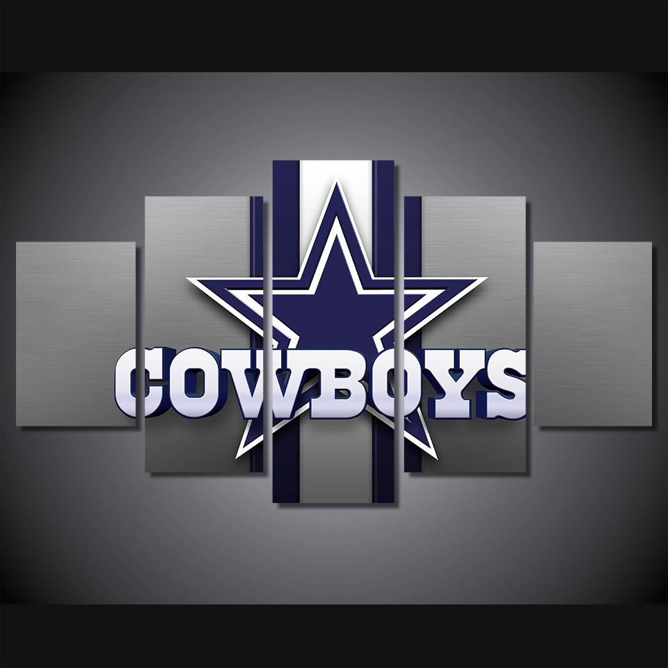 Dallas Cowboys Wall Art On Canvas Print
