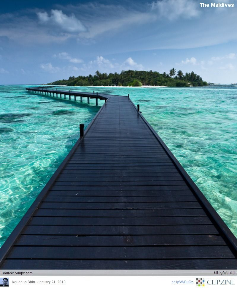 Best Places For Cheap Holiday: THE MALDIVES : Tropical Paradise