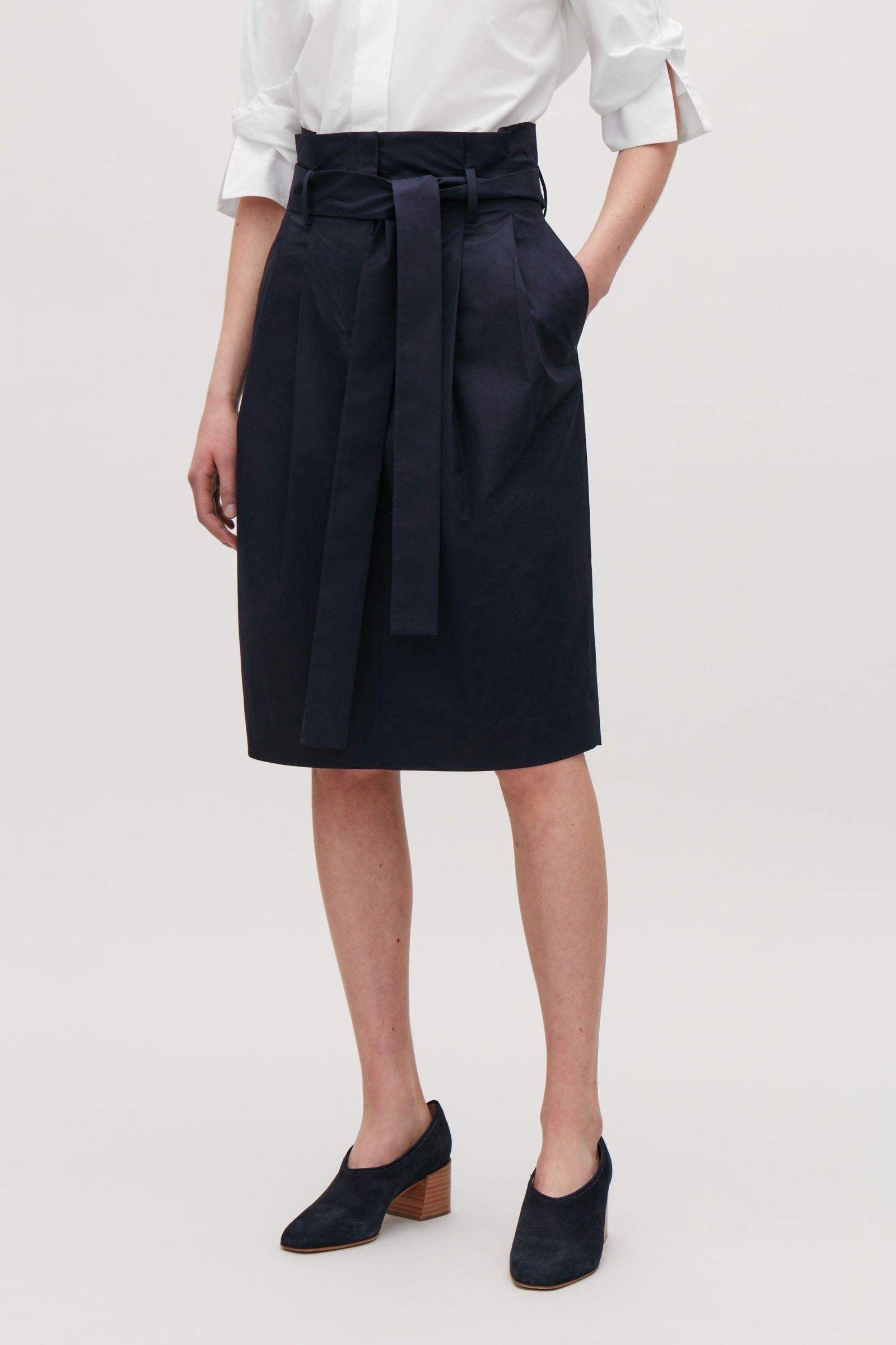 c8a370a2b High Waisted Skirt Mid Length | Huston Fislar Photography