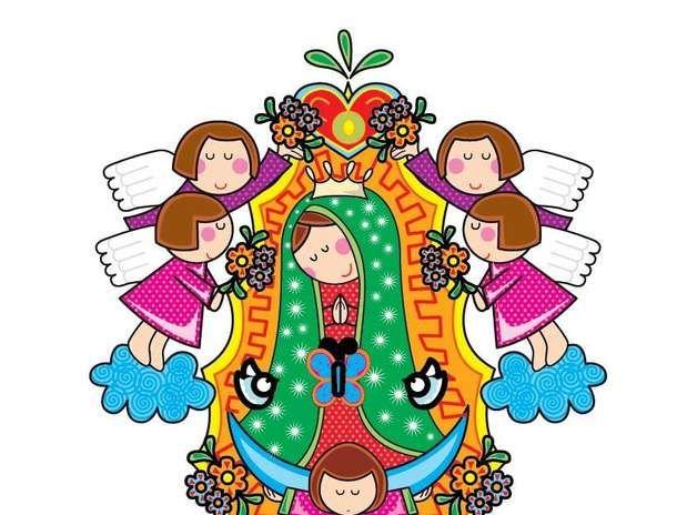 Imagenes Flores Caricatura Buscar Con Google: Caricaturas De La Virgen De La Candelaria