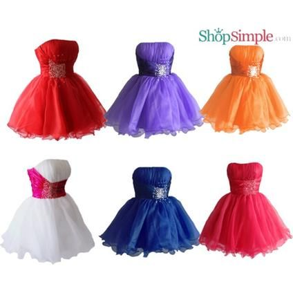 Faironly Cm3 Mini Short Formal Prom Dress #ShopSimple