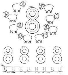 Number Worksheet Crafts And Worksheets For Preschool Toddler And Kindergarten Color Worksheets Numbers Preschool Tracing Worksheets