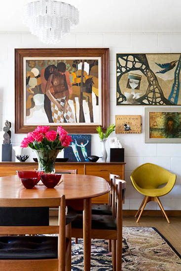 A room full of rich and creative detailing // Dining Rooms