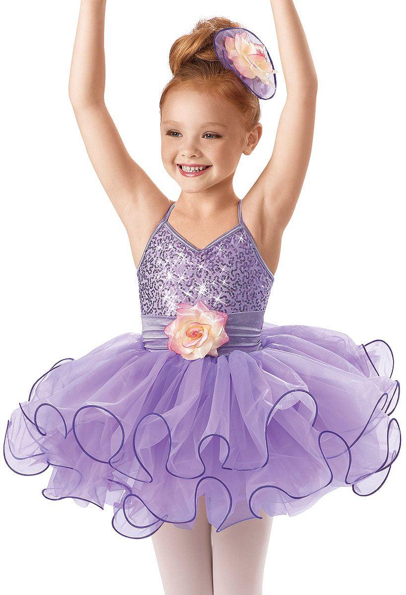 f807a9cf459c Sequin Curly Hem Ballet Dress -Weissman Costumes