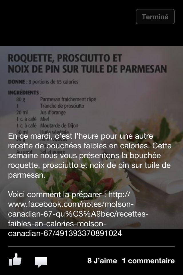 Roquette proscuitto