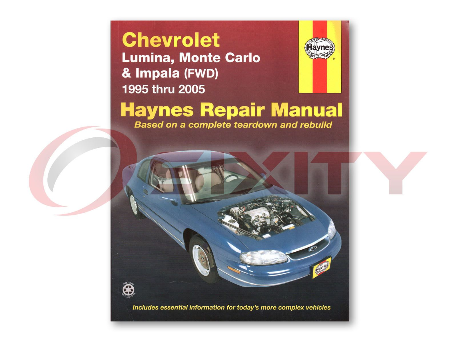 ManualsPRO - Chevy Impala Haynes Repair Manual LS Sport Base SS Shop Service  Garage Bookud https
