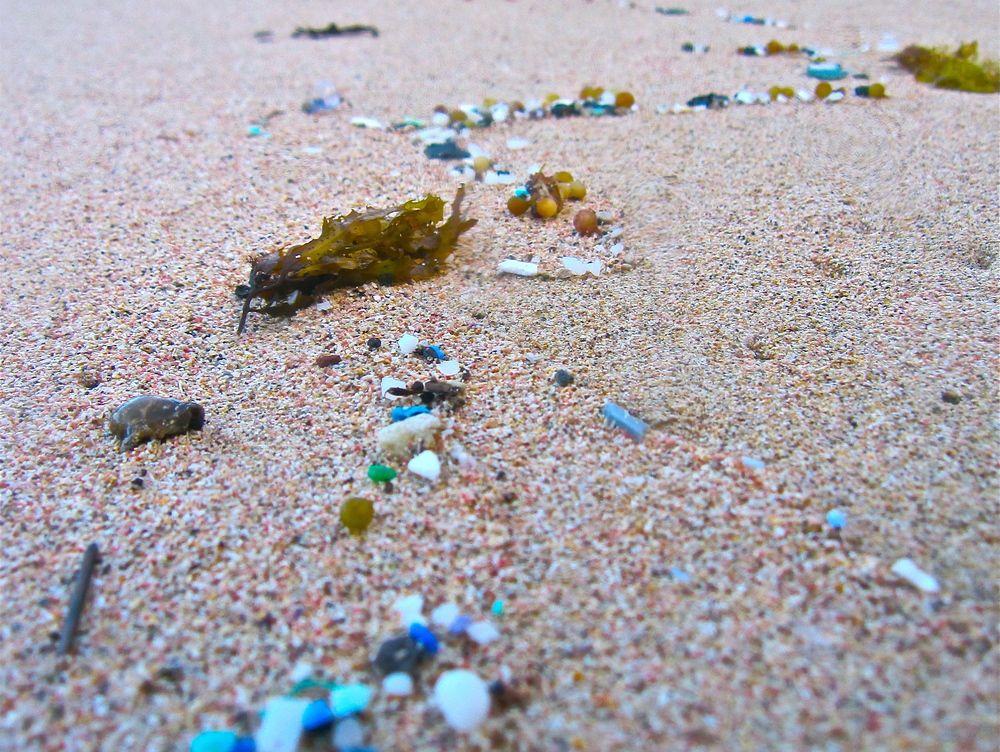 microplastics on the beach 5 Gyres | Plastic Beaches | Plastic