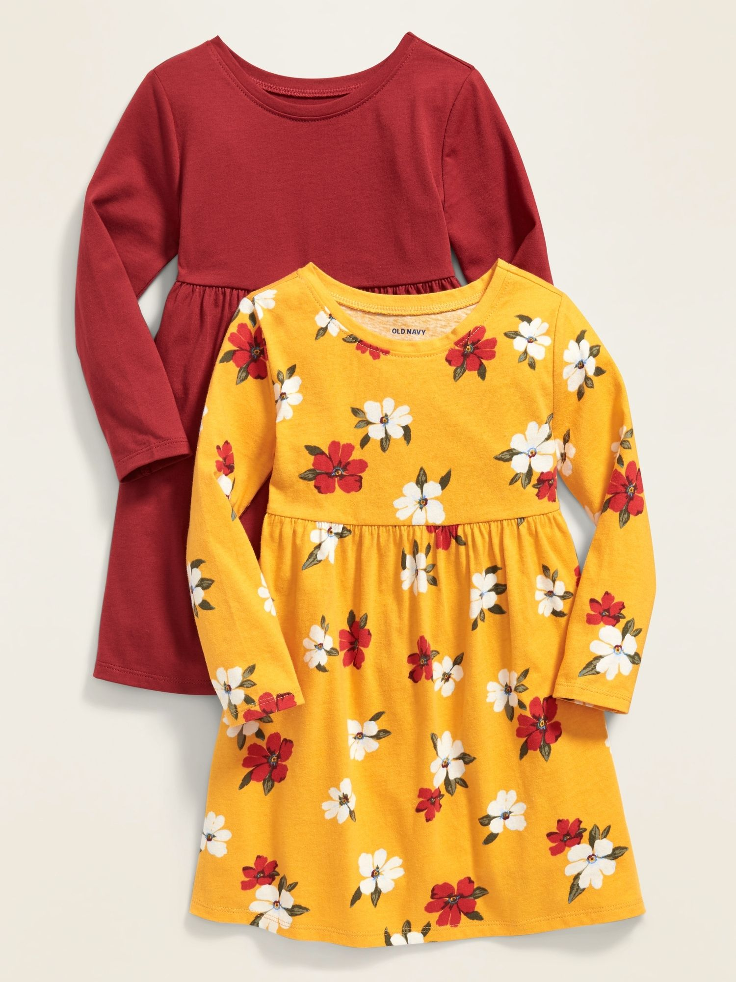 Infant Girls Yellow Floral Linen Shirt /& Mustard Leggings 2-PC Baby Outfit