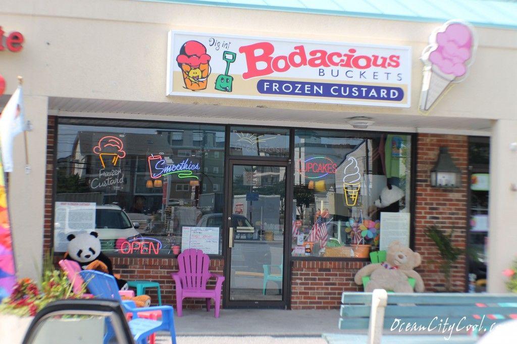 Bodacious buckets frozen custard restaurant review