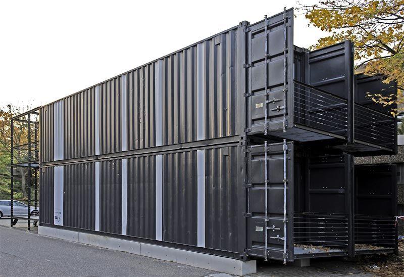 Containers como Espacios de Trabajo Alumnos - Facultad de Arquitectura (FH) en Colonia - Alemania.