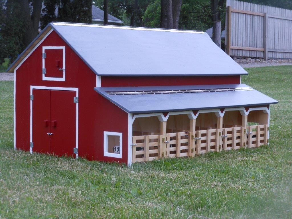 Homemade breyer horse barns bing images breyer barns for Blueprints for barns