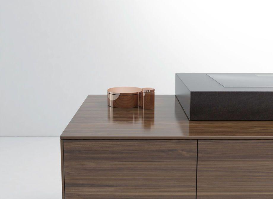 Küche Filigno Aus Massivem Holz Mit Zarter Ummantelung