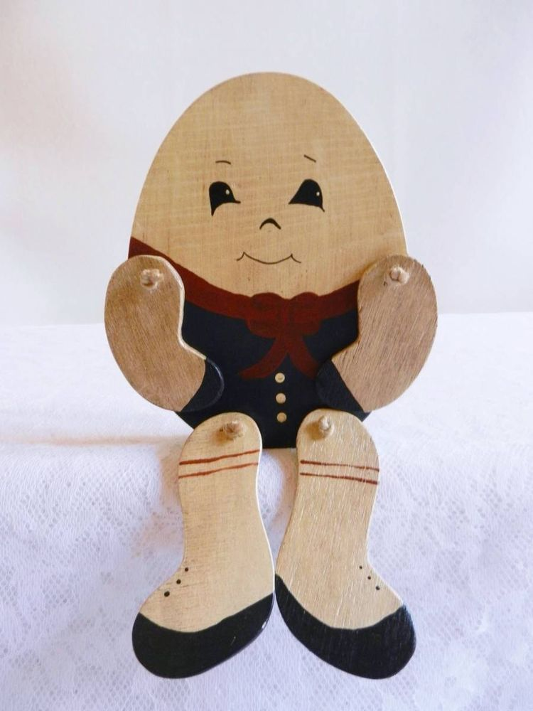 VINTAGE TOY, Vintage Humpty Dumpty with Moving Legs and Arms