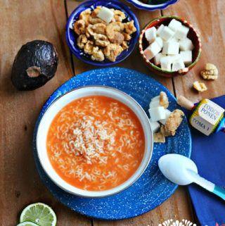 Alphabet Soup Recipe - Sopa de Letras. Learn how to do make it today.